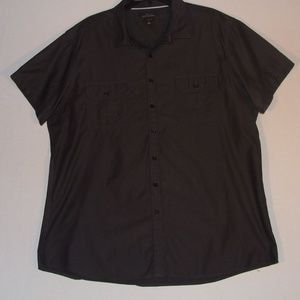 Men's XXL Fitted Marc Anthony Short Sleeve Shirt